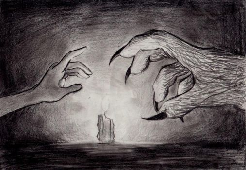 A Portrait of Two Hands by earth-angel13