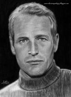 Paul Newman by iSaBeL-MR
