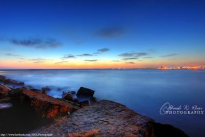Sunset at sea view by ahmedwkhan