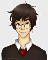 Harry Potter by chocowaffle