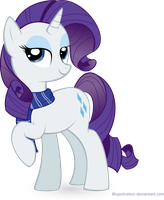 Ravenclaw Rarity Vector by Blupolicebox