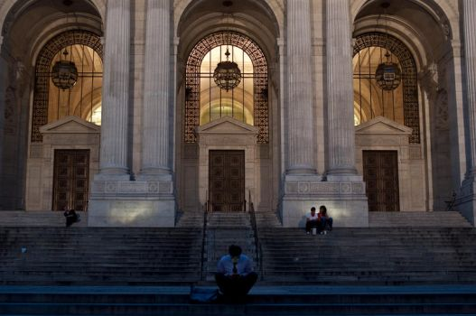 New York Public Library by Oni-Grapher