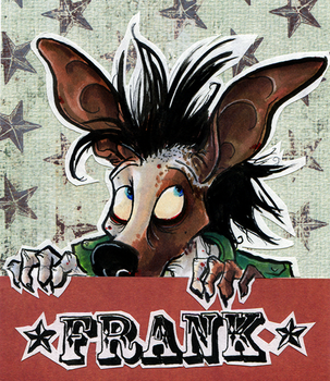 Frank Badge by skurvies