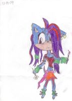 Arina the Hedgehog by TWFFOMA-xD