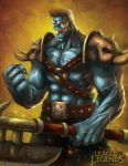League of Legends: Sion the Undead Champion by jackfrozz