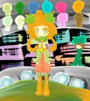 :In the Circus: by The-Pink-Green-Chibi