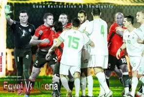 Egypt Vs Algeria Again by Se7s1989