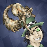 Arc n' his hatcat Rubles by improbablesage