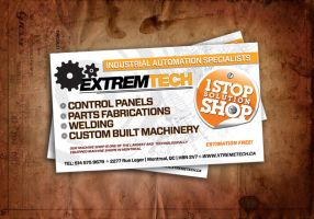 extremtech flyer by sounddecor