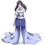 -Contest Prize- Wedding Dress Nozomi Toujou by moonflower20000
