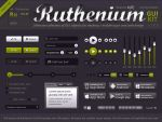 Ruthenium UI Kit FREE PSD by lakmus