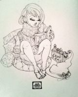 Potions Girl by outofthasewers