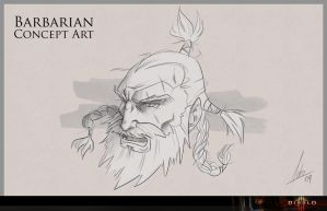 Barbarian_Concept Art by juliomolina