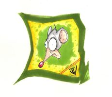 Radioactive Rodent by JohnVichlenski