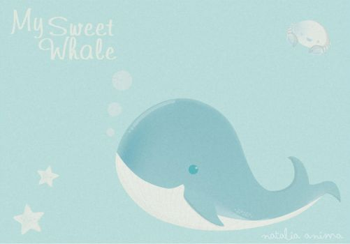 My Sweet Whale by natalia-factory