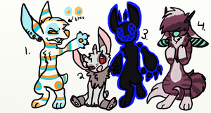 Experiment Adoptables by Bateye