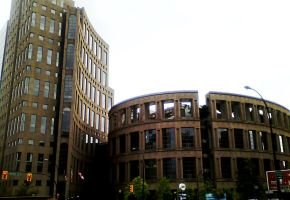 Vancouver Library by julXart