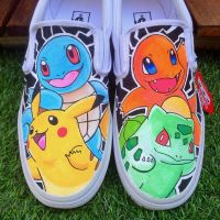 Original 4 Pokemon Vans by VeryBadThing