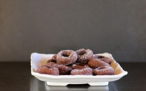 Oven baked mini Nutella donuts by maytel