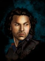 Aidan Turner Color by Haddrian
