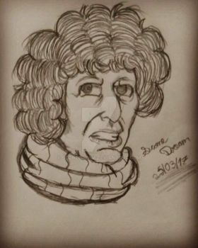Fourth Doctor by SconeDream