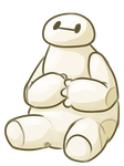 Chibi Baymax by red-anteater