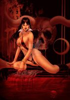 Vampirella by Michael Bair by StephenSchaffer