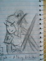 Quickdraw Blood Elf by momentscomic