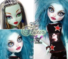 MH 17inch Frankie repaint #3 ~Fleur~ by RogueLively