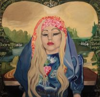 Gaga-Lisa Made for Judas -SOLD by QuincMSK