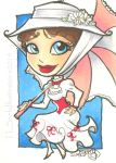 Chibi Mary Poppins by TLSeely