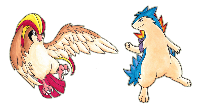Pokeumans - Nathan and Cameron by Lornext