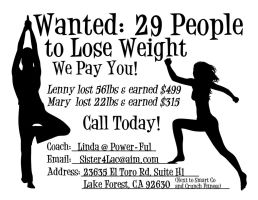 Weight Loss Challenge Flyer by EmmaL27