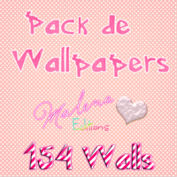 Pack De 154 Wallpapers by maalenitha