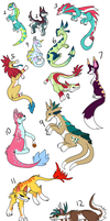 FREE creature adoptables and auction-- SOLD/TAKEN by Sarabikitty