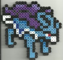 Suicune by Ravenfox-Beadsprites