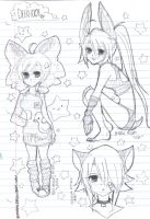 Pencil Sketches by Bombah