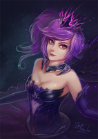 Elementalist Lux - Dark by TMiracle