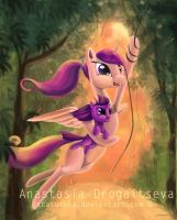 Cadence and Filly Twilight_ Call of the Jungle by Stasushka