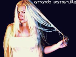 amanda somerville wallpaper by LadyMoondance