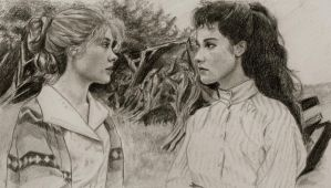 Anne and Diana by patricemarie