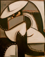 lone ranger cubism painting by TOMMERVIK