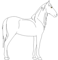 Free Lineart .1 by RedOak-Stables
