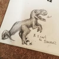 Dinosaur Sketch! by americant-even