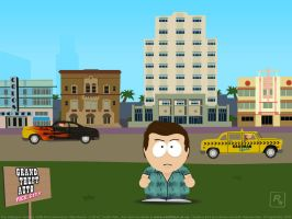 GTA Vice City South Park style by redfill