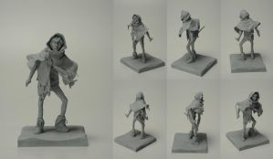 Sol- Character Maquette by GodessFae