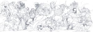 Battle for Eternia. by Axel-Gimenez