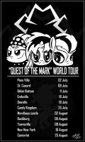 Cutie Mark Crusaders World Tour B/W by Red-bat
