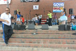 Puerto Rican/Latin Festival, Hoopla On Stage by Miss-Tbones