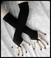 Pirouette Arm Warmers by ZenAndCoffee